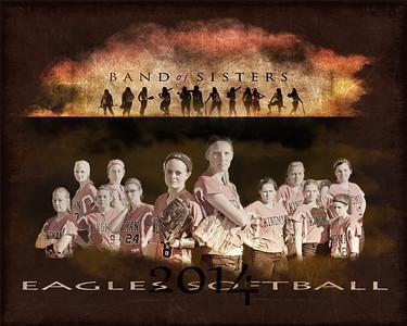 KHS Lady Eagles Softball Team 2014