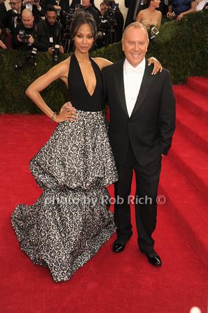 Zoe Saldana and Michael Kors photo by Rob Rich © 2014 robwayne1@aol.com 516-676-3939