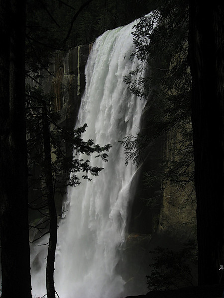 Vernal Falls in May - that's a lot of water!