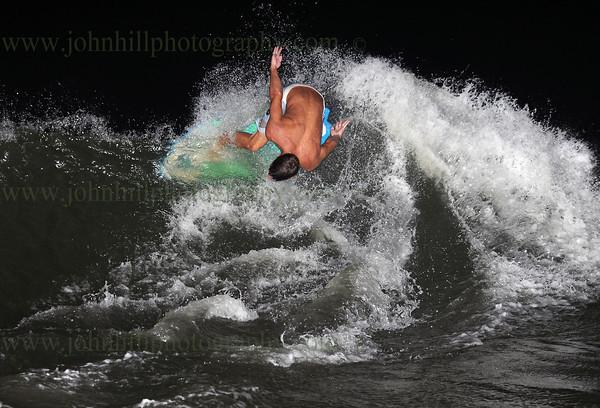 Hurricane Issac Surfing 2012