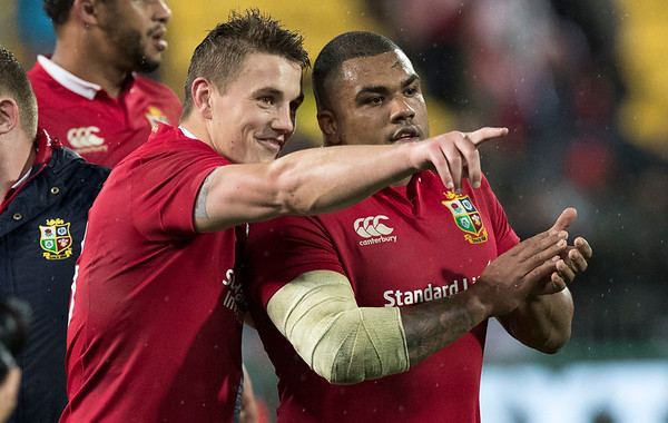during game 9 of the British and Irish Lions 2017 Tour of New Zealand, the second Test match between  The All Blacks and British and Irish Lions, Westpac Stadium, Wellington, Saturday 1st July 2017 (Photo by Kevin Booth Steve Haag Sports)  Images for social media must have consent from Steve Haag