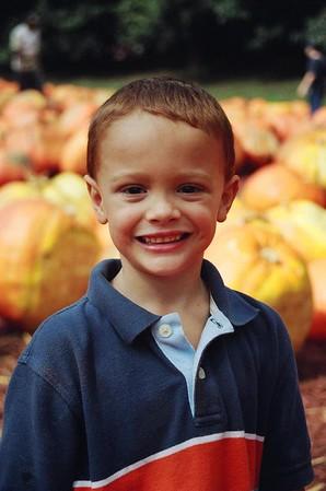 Pumpkin Patch/Halloween  - October 2005