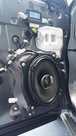 2013 Lexus ES350 Front Speaker Installation - USA