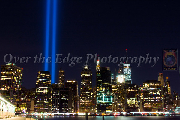 September 11th Tribute Lights - 15th Anniversary