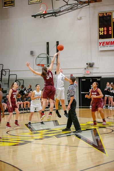 GHS Girls Varsity Basketball vs Moline Feb. 2, 2018