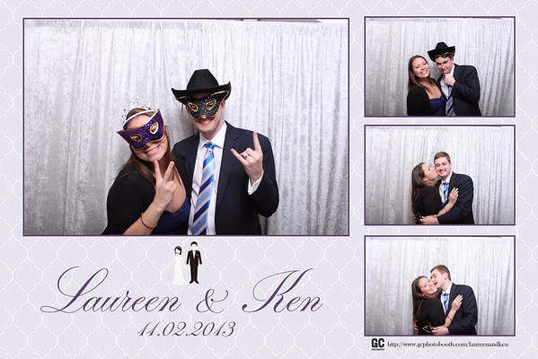 Kenneth and Laureen's Wedding Photo Booth Prints