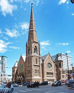 Trinity Methodist Episcopal Church downtown Denver, CO.