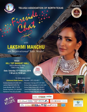 TANTEX - Fire Chat with Manchu Lakshmi - 2018