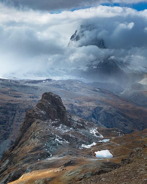 The Matterhorn from Gonnergrat