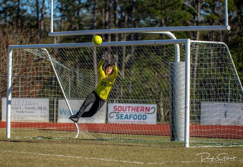 Goalie:  SAVE!