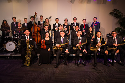 Band pictures, Ambassador, Studio, Jazz Ensemble