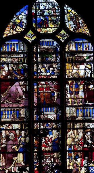 Rouen, Saint-Patrice Church, The Story of the Adulterous Woman