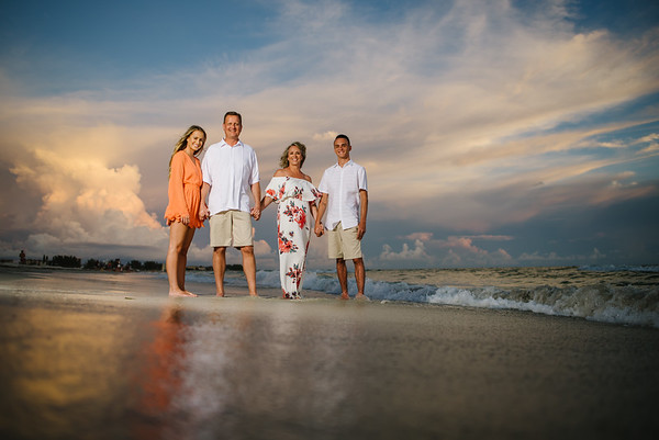 Gulf Coast Treasure Island Florida Family Photographer