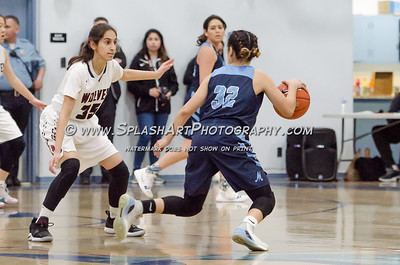 2019 Girls Basketball Marshall vs Van Nuys 16Feb2019