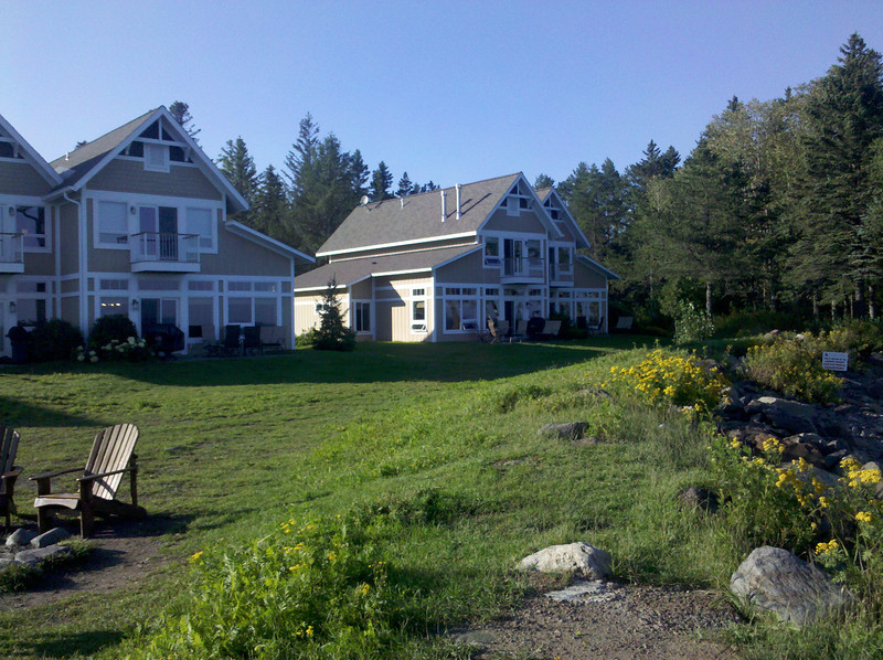 The cottage I was in at Larsmont