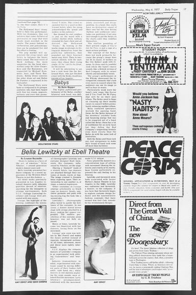 Daily Trojan, Vol. 71, No. 52, May 04, 1977