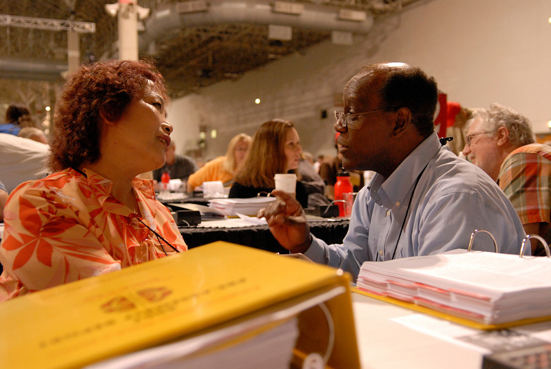 Teresa Chow and Hermon Cage talk about the importance of making the ELCA multicultural.