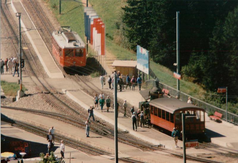 150 Years Swiss Railways - Viznau Rigi Bahn - 10 september 1997