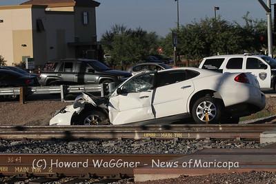 Train vs car 10-16-2014