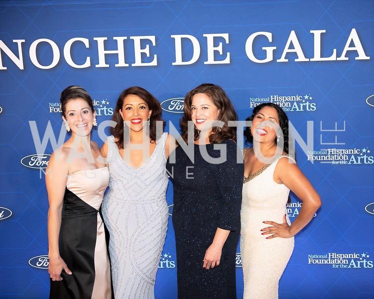 Former NHFA Scholarship Recipients. Photo by Yasmin Holman. Noche de Gala. Mayflower Hotel. 09.18.19