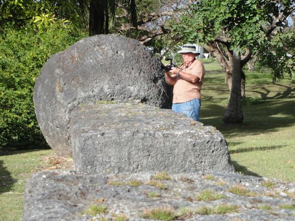 Robertsons at Tinian Taga House
