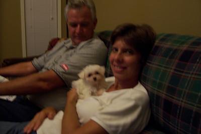 Dawn & Adam's new dog