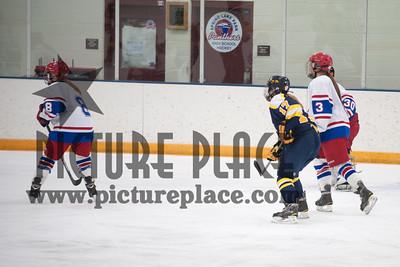 Girls Hockey Action MHS Vs. SLP