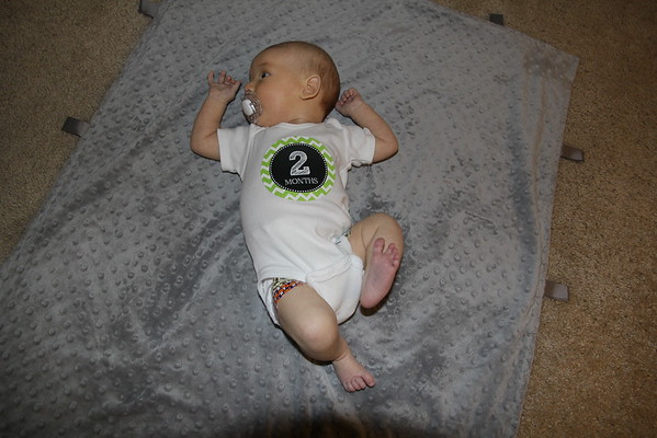 Alex 2 Months Old