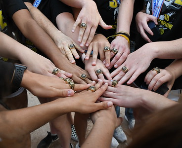 Volleyball State Champs Rings 3/12/2019