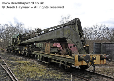 Ransomes and Rapier Steam Crane