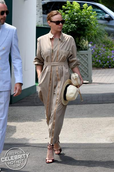 Boilersuit Babe! Stella McCartney In Stella McCartney With Hubby Alasdhair Willis