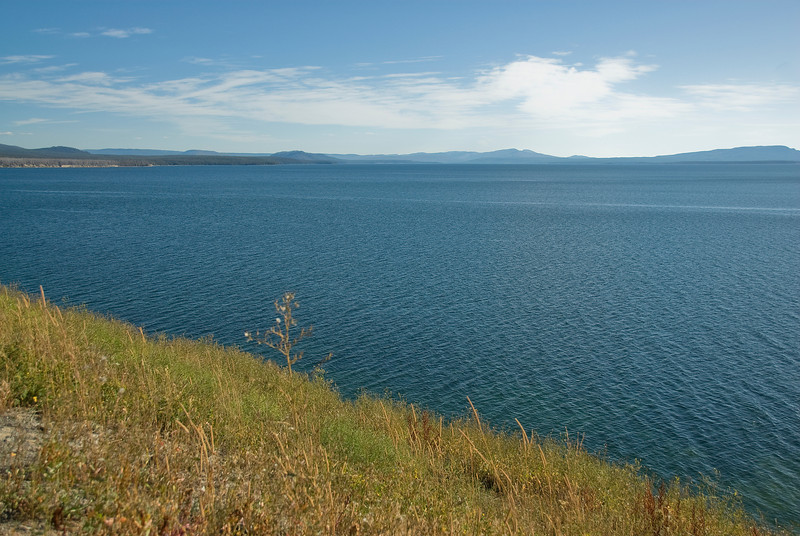 Yellowstone Lake in Yellowstone National Park, Wyoming