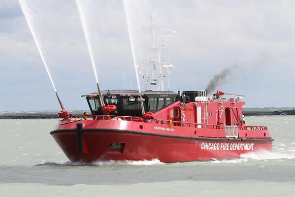 Engine 2 Display Navy Pier Promotional Celebration 2012