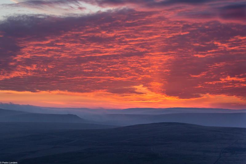 Sunrise from Brentor Church