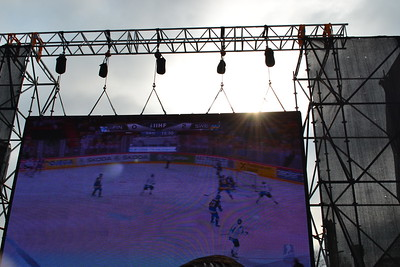 SEMI FINAL FIN:SWE & SUI:USA at Kiekkotori Helsinki