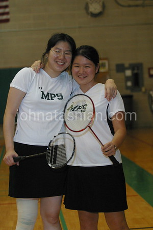 Miss Porter's School - Badminton - September 24, 2004