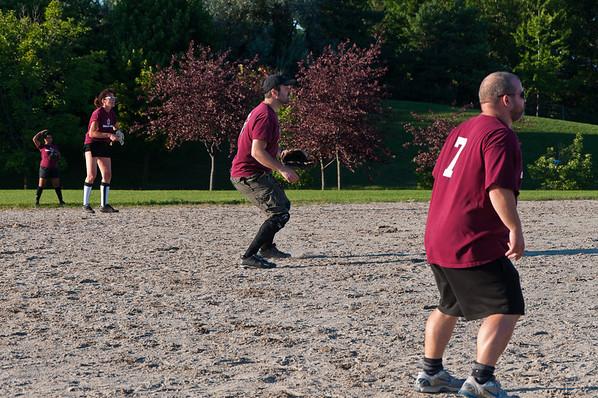 Maroons - Durham East Softball - Aug 12, 2012