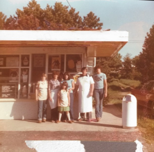 . Submitted <br> The Kuhar family pictured in the late 1970�s. Kuhar�s Pizza Oven and Dairy Freeze at 970 Riverside Drive  in Painesville Township is celebrating its 40th and final season.
