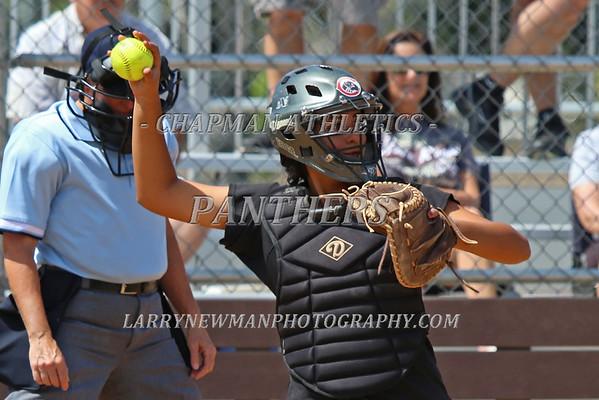 Softball vs. Whittier 4-4-15