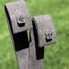 .54ctw Asscher Cut Diamond Bezel Stud Earrings, Platinum 9