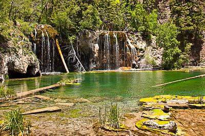 Hanging Lake, Glenwood Springs, Corolado, May 30, 2012