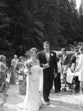 Wendy & Rudy's Wedding in Yosemite, Sept. 2002