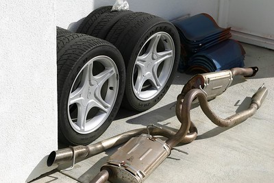 Wheels and Exhaust for Sale