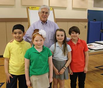 Westchester Lower School: Visit from David Adler