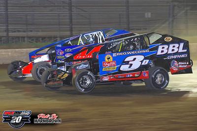 Albany-Saratoga Speedway - 9/11/20 - Mark Brown