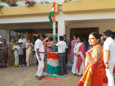 Republic day & Grand Parent's day at JH