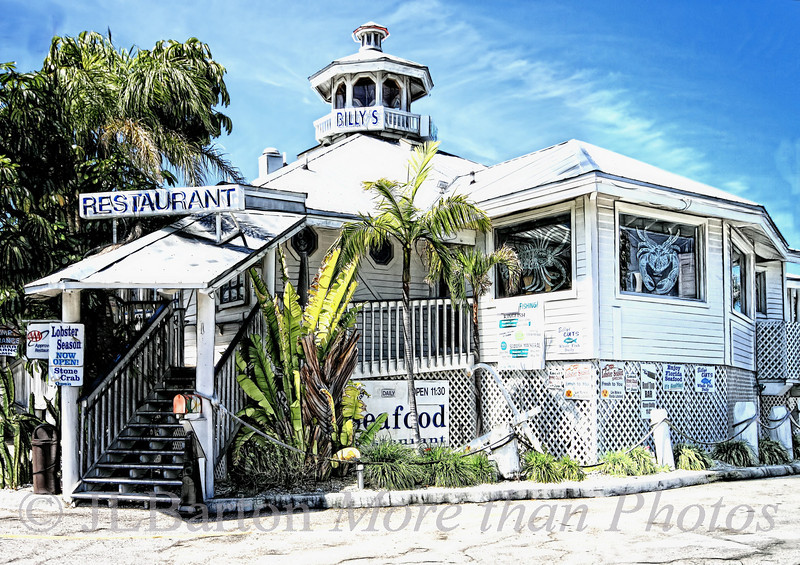 Old Florida Architecture and the best stone crabs on the west coast of Florida