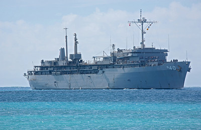 USS Cable on Saipan