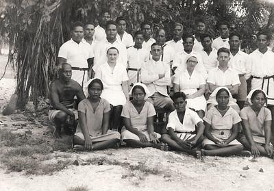 Hospital staff on Nauru, c. 1941