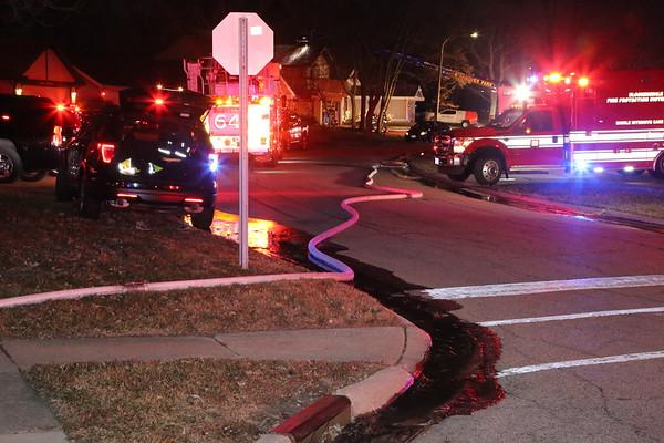 Hanover Park, House fire 12-25-2020